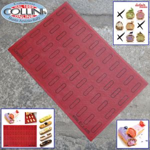 Pavoni - Micro perforated and non-sticked silicone pad ECL48