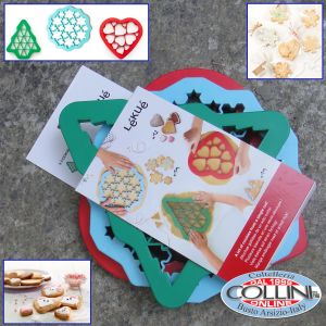 Lékué - Set cookie puzzle for biscuits