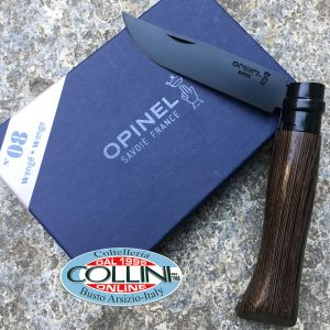 Opinel - Black Edition Wengé 002157 - n.8 stainless steel - knife