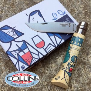 Opinel - Edition France by Ale Giorgini 002154 - n.8 stainless steel - knife