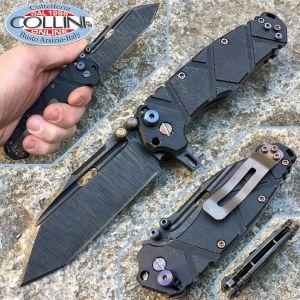 Wander Tactical - Hurricane TI Folder - Black Micarta - folding knife