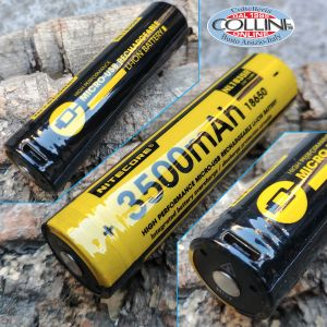 Nitecore - NL1835R - Rechargeable battery with Micro-USB connection - 3.6V 3500mAh