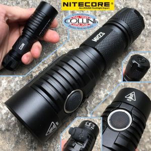 Nitecore - MH23 - USB rechargeable - 1800 lumens and 294 meters - Led Flashlight