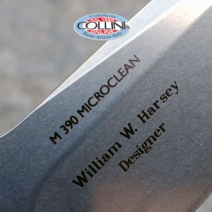 Fantoni - HB03 by W. Harsey - M390 & Orange G10 - knife