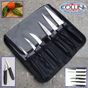 Mercer Culinary  -  7Piece Carving Knife Set, Black
