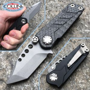 EOS Elite Outfitting Solutions - Prawn Friction Folder Tanto Carbon/Aluminum - knife