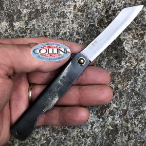 Higonokami - Kanekoma knife - Black Large Coltello Tascabile Japan