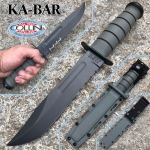 Ka-Bar - Foliage Green Fighting knife - 5012 - Kydex Sheath - knife