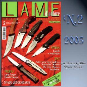 Lame d'autore - Numero 2 - Anno 2003