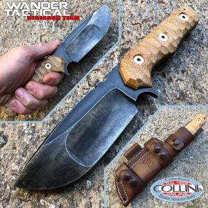 Wander Tactical - Lynx Compound - Lynx Raw & Micarta Desert