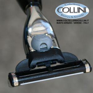 Muhle - VIVO - 3-blade razor  Gillette® Mach3®, handle material high-grade resin black