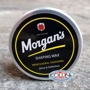 Morgan's - Modeling wax for shiny hair - Shaping Wax - Made in UK