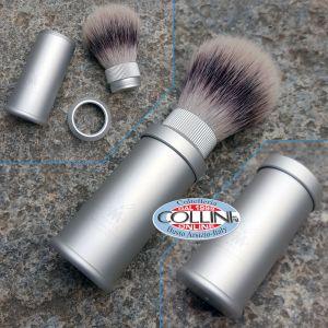 Muhle - shaving brush travel - fur badger - 31M530 Aluminium - shaving