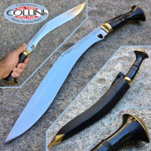 Kukri Artigianale - Chitlange corno 24 - coltello nepalese