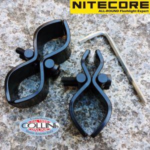 Nitecore - 2x Attacco Fucile Universale da 18mm e 25mm per Torce - GM03 - Accessori