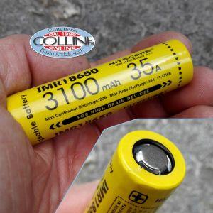 Nitecore - IMR18650 - Batteria ricaricabile 3.6V per MH23, EC23, HC33 e CONCEPT 1 - 35A - 3100mAh