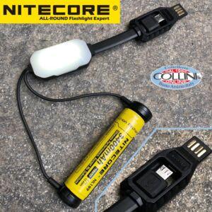 Nitecore - LC10 - Caricabatterie Universale Tascabile USB - per RCR123A, 18650, 14500