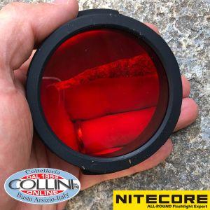 Nitecore - Filtro Rosso da 60mm - NI-NFR60 - Accessori