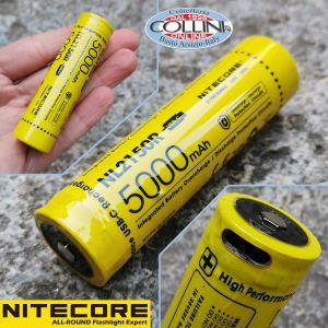 Nitecore - NL188 - Batteria ricaricabile protetta Li-Ion 18650 3.7V 3400mAh