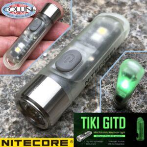 Nitecore - Tube - Black - Portachiavi Ricaricabile  - 45 lumens - torcia led