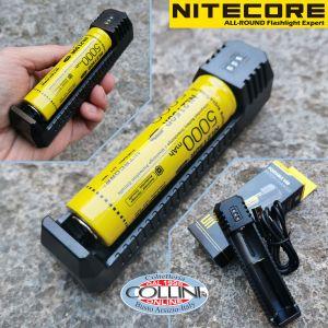 Nitecore - F1 Flexible Power Bank - Caricabatterie Universale - per RCR123A, 18650, 14500 e smartphone