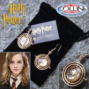 Harry Potter - Hermione's Time-Turner Earrings - Gold Plated - NN7611