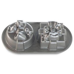 Nordic Ware - Stampi pacchetto regalo - Pretty presents duet pan