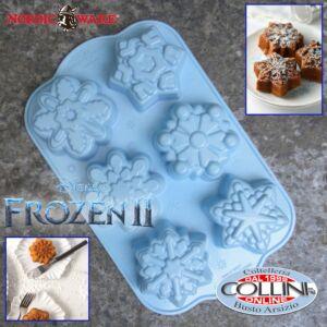 Nordic Ware - Stampo 6 fiocchi di neve Frozen - Disney - 6 monoporzioni - ED. LIM.