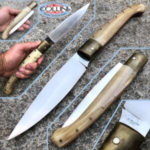 Pattada artigianale di Giuseppe Muzzu di Telti lama da 16 cm - coltello custom