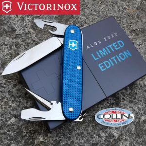 Victorinox - Pioneer Alox Steel Blue Limited Edition 2015 - 0.8201.L15 - coltello multiuso