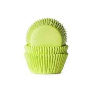 Decora - 75 pirottini in carta per cupcake colore verde o azzurri