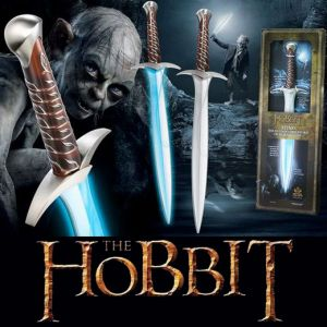 Lo Hobbit - Pungolo con Lama Luminosa - Force FX Battle Sword - Lord of The Rings