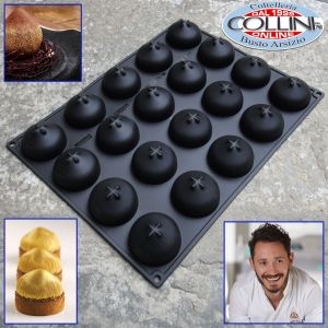Pavoni - Stampo in silicone - Noisette - by CedricGrolet
