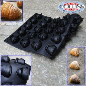 Pavoni - Silicone mold Pavoflex line - Sfogliatella - 30 Cavities