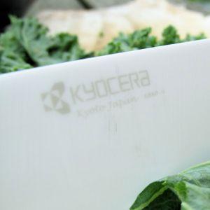 Kyocera - Ceramica Kyo Fine White - Santoku Knife 14 cm - FK-140WH