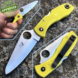 Spyderco - Salt 1 Yellow knife - USATO - coltello