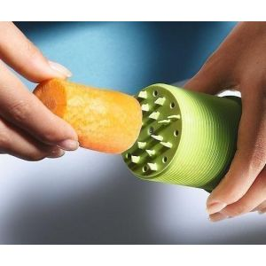 Betty Bossi - Sharpener decorator for Vegetables - 2 spiral cuts