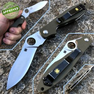 Spyderco - Kuhkri by Ed Schempp knife - USATO - coltello
