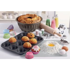 Birkmann - Set pirottini carta Muffin e Mini muffins