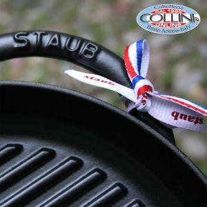 Staub - Pure grill tonda cm. 30 in ghisa
