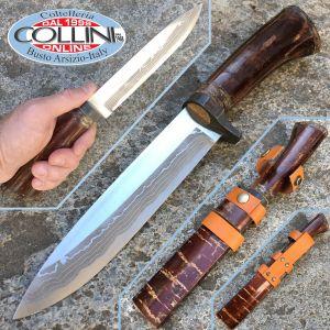Takeshi Saji - Miyabi Shikarigata knife - Coltello Artigianale