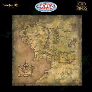 Weta Workshop - Mappa della Terra di Mezza - Il Signore degli Anelli
