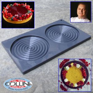 Pavoni - Ipnosi - Stampo in silicone by Emmanuele Forcone - 2 forme