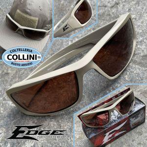 Edge Tactical Eyewear - Hamel TT Desert Sand tactical eyewear - Copper Polarized Vapor Shield Lens - TXH735VS-TT