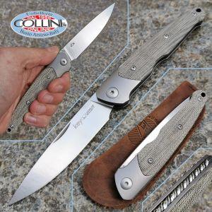 Viper - Key SlipJoint knife by Vox - Titanio e Micarta - V5978CV - coltello
