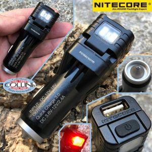 Nitecore - VCL10 - Caricabatterie da auto USB - Torcia di Emergenza - Tactical Gear