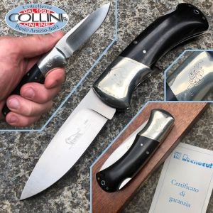 Viper - coltello con incisione - ebano - anatra - by Rizzini - V4000 Limited Edition