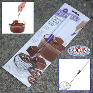 Wilton - Grid shovel chocolate
