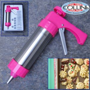 Decora - Easycookies - Gun with stainless steel cylinder