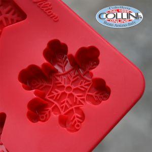 Wilton - Set silicone mould  Ciocco / candy - Snowflake